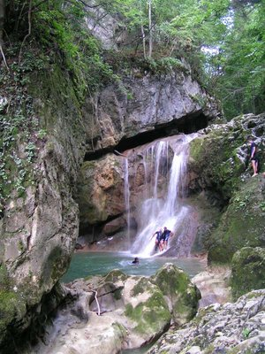 Canyoning in Bosnia!